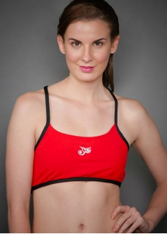 SPORT BRA BEAUTY ROJO